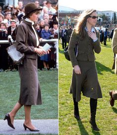 Web Parks: Kate Middleton Comparison with Princess Lady Diana