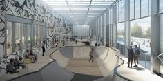 Gallery of EFFEKT's Winning Proposal Converts Abandoned Warehouse Into Cultural Hub - 3