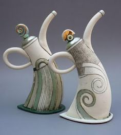 Hennie Meyer | Dancing Teapot