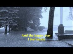 """NEIL SEDAKA - LAUGHTER IN THE RAIN [w/ lyrics] """"I LOVE BEING IN THE RAIN,""""  IT WAS WONDERFUL BEING IN THE RAIN HOLDING HANDS WITH THE ONE IN MY LIFE BACK THEN! <3 XXOO"""