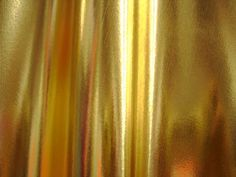 1 X Spandex Metallic Gold Fabric Sold by The Yard