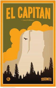 El Capitan, Yosemite National Park by Matt Brass
