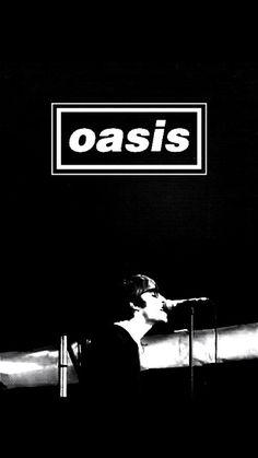 Oasis black wallpaper&lockscreen liam gallagher by Oasis Lyrics, Oasis Music, Liam Gallagher, Music Wallpaper, Wallpaper Lockscreen, Black Wallpaper, Best Rock Bands, Cool Bands, Wonderwall Oasis