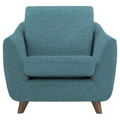 BuyG Plan Vintage The Sixty Seven Armchair, Fleck Blue Online at johnlewis.com