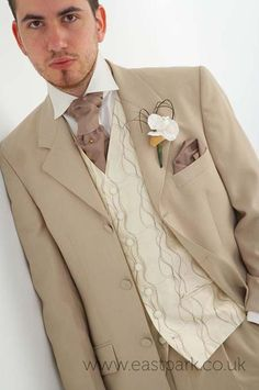 Lovely suit for the modern groom