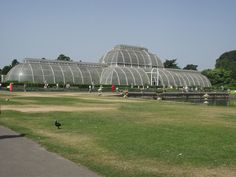 19TH CENTURY, Engineering Architecture, England - Palm House, Royal Botanical Gardens, Kew, Surrey, designed 1844. executed 1845-8, by Decimus Burton and Richard Turner.