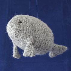 Manatee by Rachel Borello Carroll - Note This pattern is a free ravelry download until Monday, July 4th, at which point the next pattern in the Summer of Sea Creatures series will be released. Enjoy!