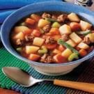 Hearty Hamburger Soup - Im making this for the Hurricane!!