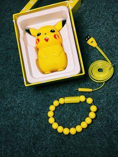 Pokémon Go Pikachu batterie externe mini commun 10,000 mAh sur lelinker.fr