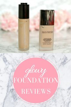Laura Mercier Candleglow VS. Becca Aqua Luminous Perfecting Foundation