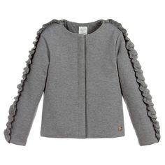56dc6c418610 brand Girls Milano Jersey Jacket at Childrensalon.com Baby Snowsuit