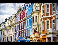 Notting Hill, London. (The lilac one!)