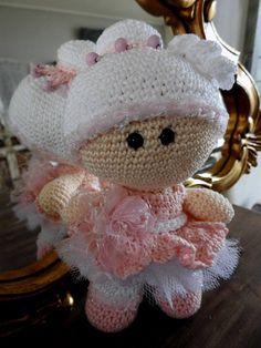 Funny haakpakket - Ballerina www.hobbyheukske.com