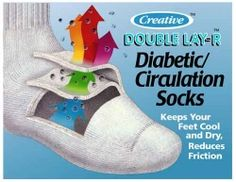 Diabetic socks help minimize injury and treat neuropathy. Regular socks just don't perform to the level that is needed. Circulation Socks, Diabetic Socks, Kids Socks, Designer Socks, Keds, Diabetes, Diabetic Living, Fabric, Health