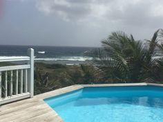 Villa ksayn Paradise T2 haut de gamme avec Terrasse et vue exceptionelle au Moule (Réf:4980 Villa de standing Guadeloupe LeMoule)