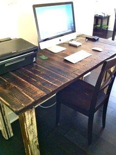LOVE this desk. architecturalwaste via Etsy