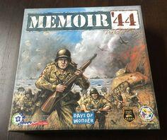 Memoir '44 Board Strategy WAR BOARD Game Days of Wonder