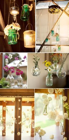 mason jars. can't live life with out them. what else can you decorate with, drink with, dress up, dress down.