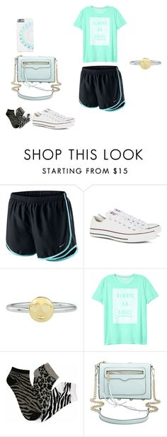 """""""Untitled #223"""" by jenniferr23 ❤ liked on Polyvore featuring NIKE, Converse, Rock 'N Rose, Victoria's Secret and Rebecca Minkoff"""