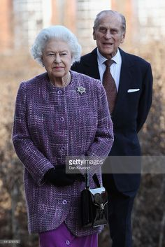Queen Elizabeth II and Prince Philip, Duke Of Edinburgh arrive for the official reopening of Kensington Palace on March 15, 2012 in London, England. After a GBP £12 million refurbishment, the historic royal palace will reopen to the public on March 26, and later in the year will become home to Prince William, Duke of Cambridge and Catherine, Duchess of Cambridge.