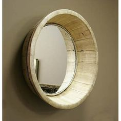 "Rustique basin mirror by Zentique 25"" diameter $237.50"