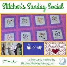 Stitcher's Sunday Social Link Party