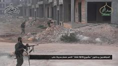 Kämpfe der Dschabha Fatah al-Scham rücken vor. Sie sind noch rund einen...