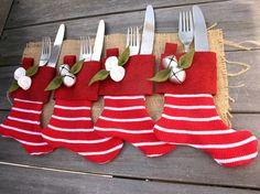 Dicas de decoração de mesa para a ceia de Natal.