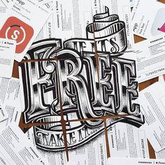 """""""If it's free take it"""" by Rob Draper"""
