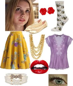 """Cassie Ainsworth"" by ambibambi-p128 on Polyvore"