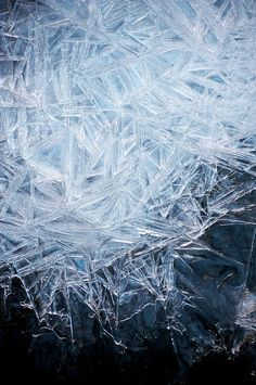 Ice Crystal Patterns | Skye Hohmann