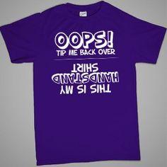 Oops! Handstand Gymnastics T-shirt