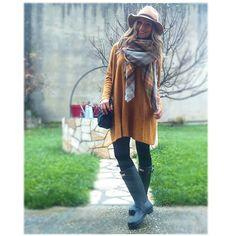 Cómo va el famoso Black Friday?? Yo he estado por la mañana de tiendas y he picado cómo no ▶vestido #hm#new ▶ bufamanta #zara #new ▶ Sombrero #sfera #new ▶ botas # hunter #nenaponteguapa  #wearing #ootd #outfit #outfitoftheday #look #lookbook #style #iger #instagramers #instablog #instablogger #fashionista #mylook #fashion #clothing #moda #fashiondaily #trend #trendy #instagood #instamood #instafashion #instastyle #instalook