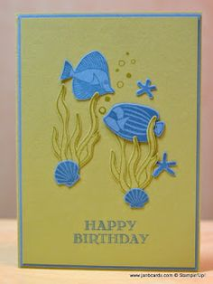 JanB Handmade Cards Atelier: Seaside Shore Card No 2