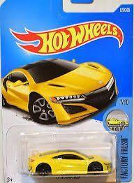 Hot Wheels '17 Acura NSX 1:64