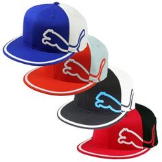 6dcd9113642 The Puma Golf Monoline 210 FlexFit cap in cool two tone colors as worn by  Rickie