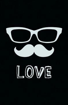 Mustache wallpaper