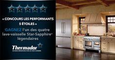 Gagnez l'un des quatre lave-vaisselle Star-SapphireMC légendaireshttps://www.facebook.com/ThermadorCanada/app_730421237036492