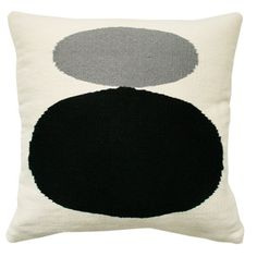 Our newest groovy color combination Grey and Black for our wool Mother & Child pillow. Love this Pillow? All of our graphic pillows are hand-loomed in Peru by weavers associated with Aid to Artisans. Kids Pillows, Wool Pillows, Throw Pillows, Jonathan Adler, Bed Sheet Sets, Mother And Child, Home Textile, Home Accents, Cool Gifts