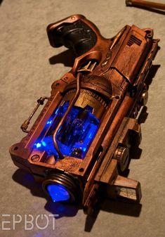 Streampunk weapon [NERF-based?]