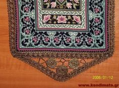 Gallery.ru / Фото #73 - αργυρω - ergoxeiro Bohemian Rug, Embroidery, Rugs, Home Decor, Farmhouse Rugs, Needlepoint, Decoration Home, Room Decor, Carpets
