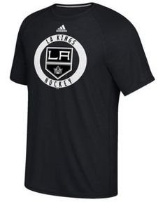 adidas Men's Los Angeles Kings Ultimate Practice T-Shirt - Black XL
