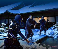 Revenge of the 47 Ronins at Edo, Japa Types Of Armor, Sengoku Period, Samurai Artwork, Ninja Art, Japanese History, Shadow Warrior, L5r, Samurai Warrior, Historical Clothing