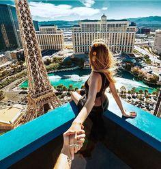 Follow me to the Las Vegas