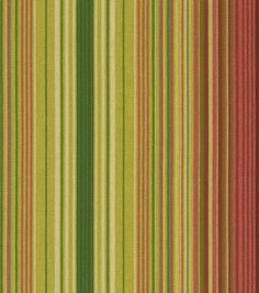 Waverly Sun N Shade Outdoor Fabric-Serene Stripe Cinnabar at Joann.com