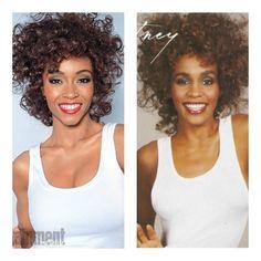 She Did That! Yaya DaCosta Replicates Whitney Houston's Hit 1987 Album Cover [PHOTOS]