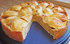 Chefkoch.de Rezept: Cyberladys schwäbischer Apfelkuchen