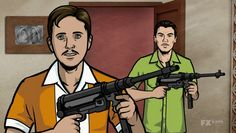 Charles and Rudy are voiced by Thomas Lennon and Robert Ben Garant, respectively. The two are main cast members from Reno 911! and MTV sketch show The State. They are also screenwriting/stand-up partners.