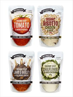 Momo meals Soup packaging design range b 20 Cool & Creative Food Packaging Design Assemblage For Inspiration