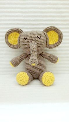 Hey, I found this really awesome Etsy listing at https://www.etsy.com/listing/203700484/crochet-elephant-elephant-stuffed-animal